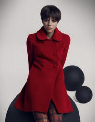 Dorothy Perkins red coat autumn winter 2006/7